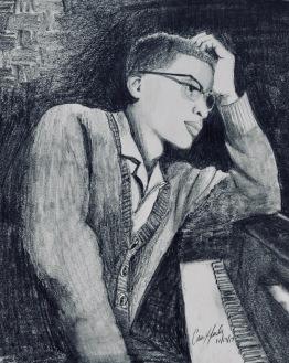 Herbie Hancock-original: 9x12- $85